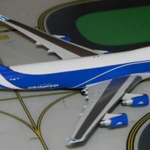 """Herpa 562201 BOEING 747-400F """"AIR BRIDGE CARGO"""" Modellismo"""
