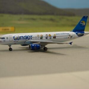 "Herpa 562263 Airbus A320 Condor ""Peaunts"" Modellismo"