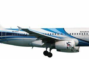 "Herpa 562300 Airbus A319 Bangkok Airways ""Sukhothai"" Modellismo"