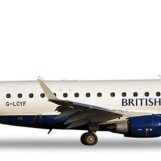 Herpa 562317 Embraer ERJ-170 British Airways Cityflter Modellismo