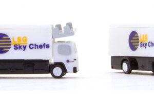 Herpa 562485 Scenix Catering Trucks (2 set 2 pack) Modellismo