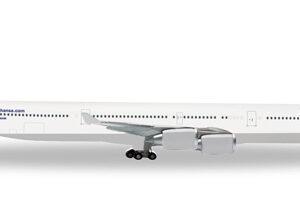 """Herpa 562492 Airbus A340-600 Lufthansa """"Fanhansa"""" Modellismo"""