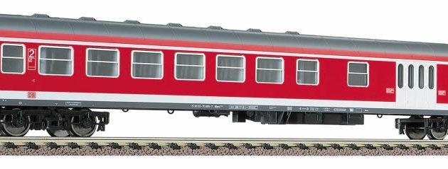 Fleischmann 5649 Carrozza + bagagliaio DB 2a classe