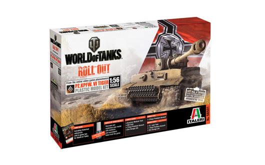 ITALERI 56501 World of tanks series Tiger I