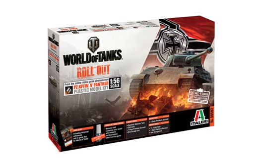 ITALERI 56502 World of tanks series Panther