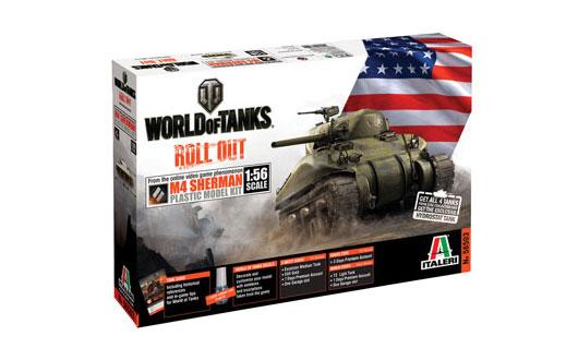 ITALERI 56503 World of tanks series Sherman