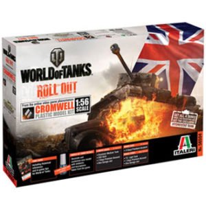 ITALERI 56504 World of tanks series Cromwell Modellismo