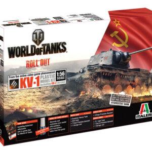 Italeri 56505 WORLD OF TANKS KV-1