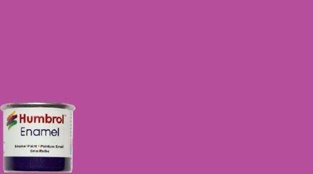 Humbrol Smalto sintetico magenta opaco 58 Modellismo