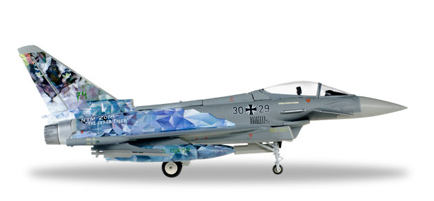 Herpa 580168 Eurofighter Typhoon Luftwaffe Modellismo