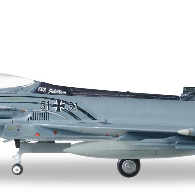 Herpa 580199 Eurofighter Typhoon Luftwaffe Modellismo