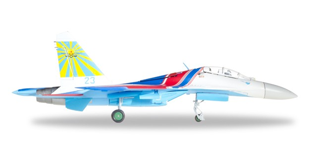Herpa 580212 SU-27UB Sukoi 237 Aviation Technology Modellismo