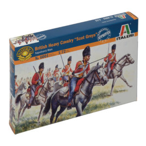 "ITALERI 6001 British Heavy Cavalry ""Scot Greys"""