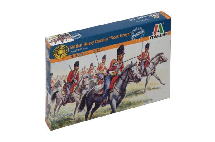 "ITALERI 6001 British Heavy Cavalry ""Scot Greys"""