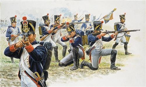 ITALERI 6002 French Line Infantry (1815) Modellismo