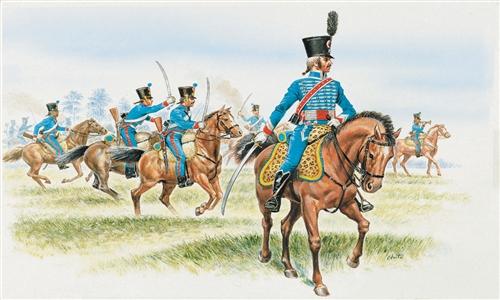 ITALERI 6008 French Hussars Modellismo
