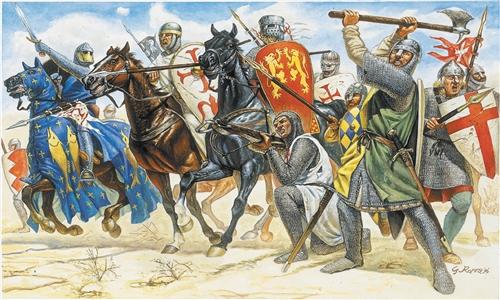 ITALERI 6009 Crusaders Modellismo