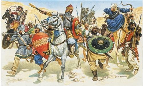 ITALERI 6010 Moors / Saracens  (11th Century) Modellismo