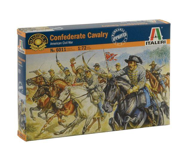 ITALERI 6011 Confederate Cavalry Modellismo