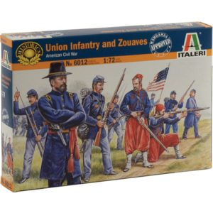 ITALERI 6012 Union Infantry And Zuaves Modellismo