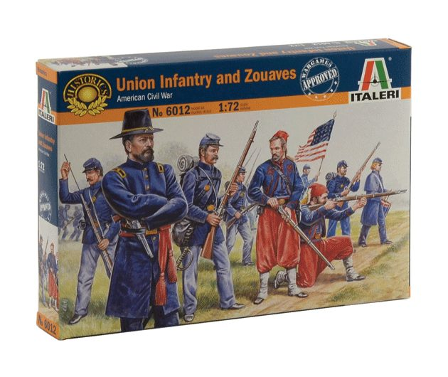 ITALERI 6012 Union Infantry And Zuaves