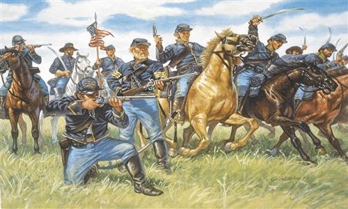 ITALERI 6013 Union Cavalry (1863) Modellismo