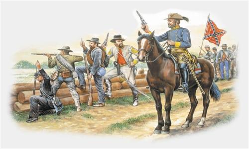 ITALERI 6014 Confederate Troops Modellismo