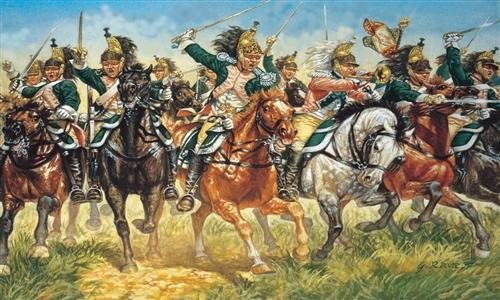 ITALERI 6015 French Dragoons Modellismo