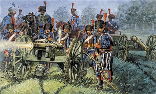 ITALERI 6018 French Line/Guard Artillery Modellismo