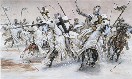 ITALERI 6019 Teutonic Knights Modellismo
