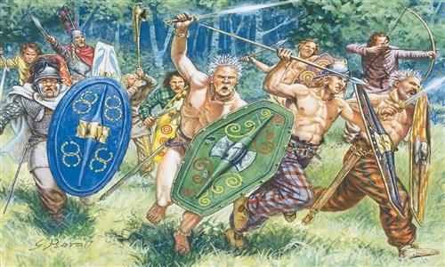 ITALERI 6022 Gauls Warriors Modellismo