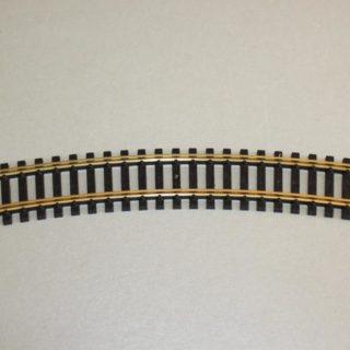 Fleischmann 6025 Binario curvo raggio 357mm 30° confezione Modellismo
