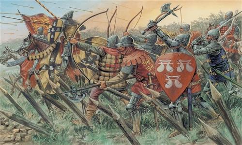ITALERI 6027 100 Years War-British Warriors Modellismo