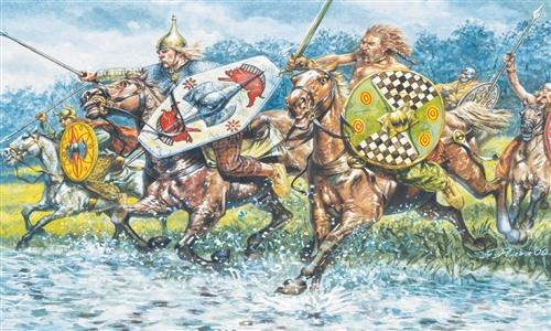 ITALERI 6029 Celts Cavalry   1/72 Scale Modellismo
