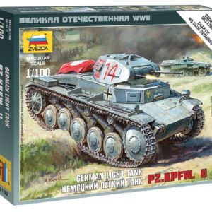 ZVEZDA 6102 German Panzer Ii
