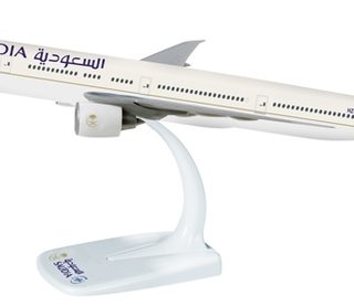 Herpa 610421 Boeing 777-300ER- HZ-AK17 Saudia Modellismo