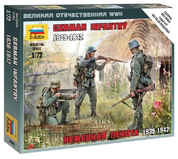 ZVEZDA 6105 German Infantry East Front 1941