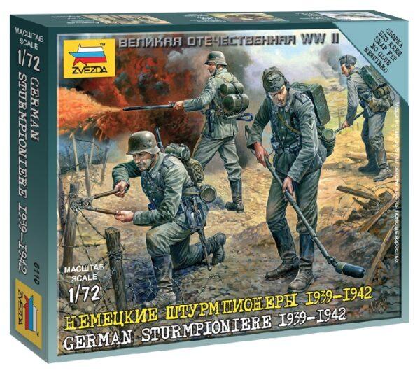 ZVEZDA 6110 German Sturmpioniere Wwii