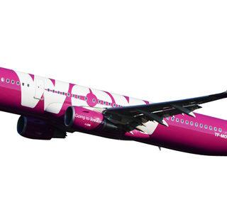 Herpa 611299 Airbus A321  Wow Air Modellismo