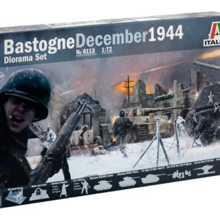 ITALERI 6113 BASTOGNE December 1944 DIORAMA SET