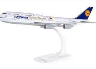 """Herpa 611428 Boeing 747-8 Lufthansa """"Sigerflieger RIO"""