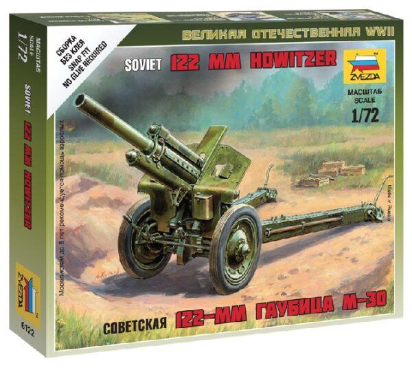 ZVEZDA 6122 Soviet M-30 Howitzer