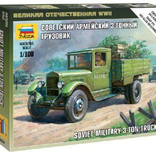 ZVEZDA 6124 Soviet Truck Zis-5