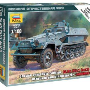 ZVEZDA 6127 Sd.Kfz.251/1 Ausf.B