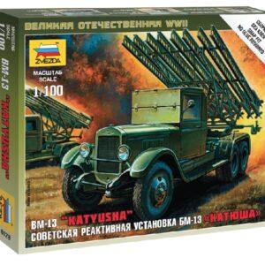ZVEZDA 6128 Katyusha