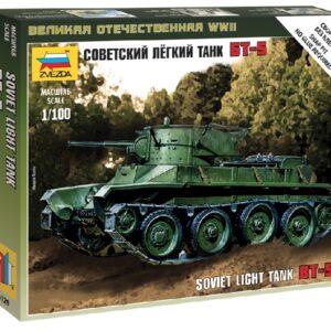 ZVEZDA 6129 Soviet Tank Bt - 5