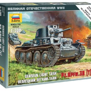 ZVEZDA 6130 German 38t Tank