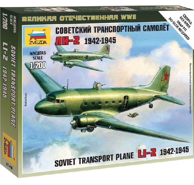ZVEZDA 6140 Li-2 Soviet Transport Plane