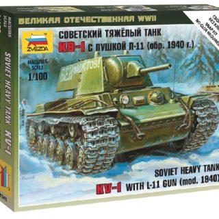 ZVEZDA 6141 Soviet Heavy Tank Kv - 1