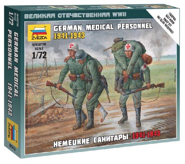 ZVEZDA 6143 Ger. Medical Personnel 41-43